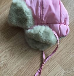 Winter hat for a girl