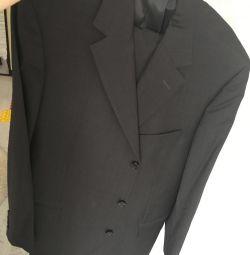 Hugo κοστούμι αφεντικό πρωτότυπο! 100% μαλλί!