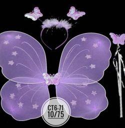 Костюм бабочка фея на любое платье