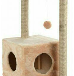 Новый домик-когтеточка для кошки.