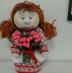 Кукла интерьерная.