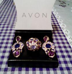 Κοσμήματα - σκουλαρίκια, δαχτυλίδι.