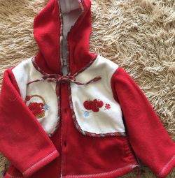 Весенняя курточка на девочку 1-1,5 годика