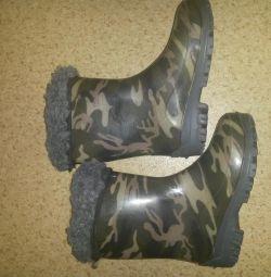 Καουτσούκ μπότες-selikon.