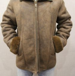 New men's sheepskin coat