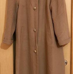 Palto, kaşmir, s. 46, az kullanılmış, mükemmel durum