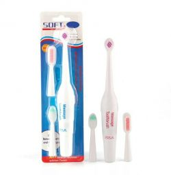 Electric toothbrush massage brush with 3 spare