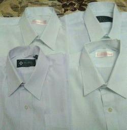 5 cămașe albe pentru școală și pantaloni
