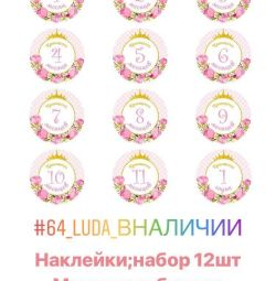 Stickers by Month