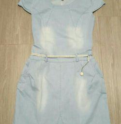 Το φόρεμα είναι τζιν