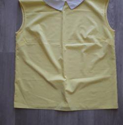 Блузка без рукава. 48