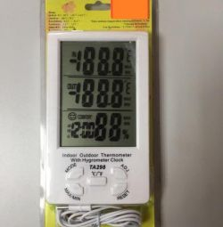 Гигрометр Термометр с датчиком Метеостанция