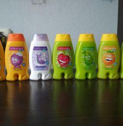 Baby shampoo / gels / foam
