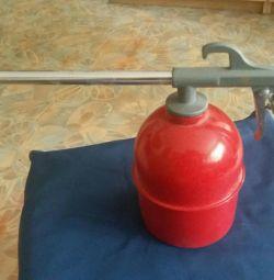 Air rinse gun