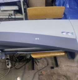 HP Designjet 110plus plotter used.