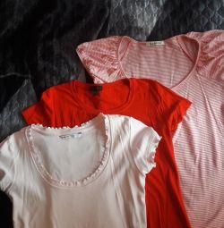 T-shirts 3 pcs (pack)