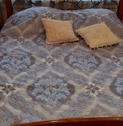 Bedspread blanket 210х240 ultrastep bilateral