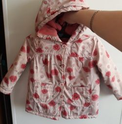 Jacket for a girl, size 1-2 years