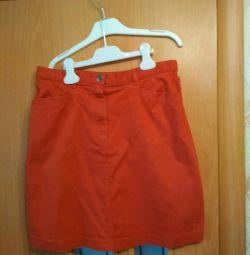 Αμερικανική φούστα denim