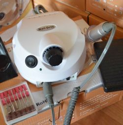 Аппарат для маникюра Nail Drill 35т об/мин белый