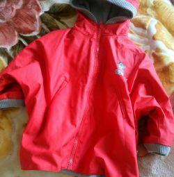 Jacheta cauciucată cu arc
