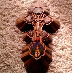Дерево крест настенный