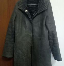 Eskada koyun derisi ceket