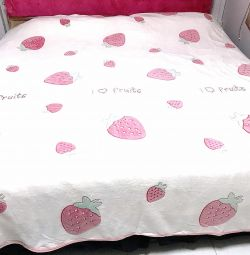 Flannel Woollen soft fabric blanket & sofa bed cov
