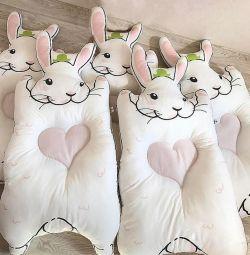 Pat pentru copii - saltea Bunny