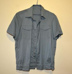 New uniform shirt for men