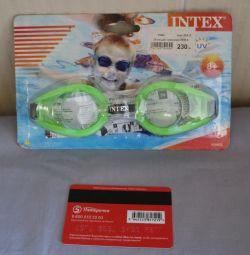 νέα γυαλιά κολύμβησης Intex