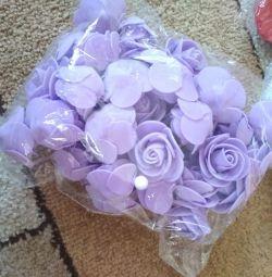 Flowers for needlework