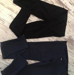 Hamileler için pantolon ve pantolonlar sm