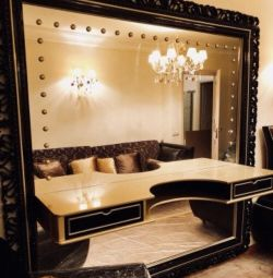 Mirror.Console.Tv cabinet.Exhibition.samples.Baroque