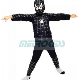 Carnival costume Black Spiderman 3