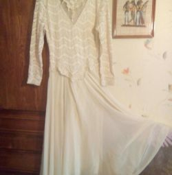 Wedding or evening dress, France