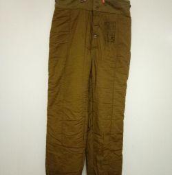 Pantaloni din bumbac armată 50 mărime