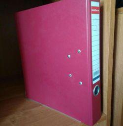 Folder, drive, recorder