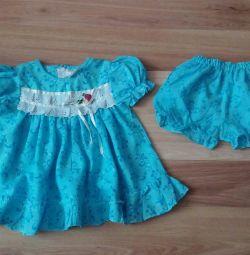 Rochie cu chiloți pentru copil.
