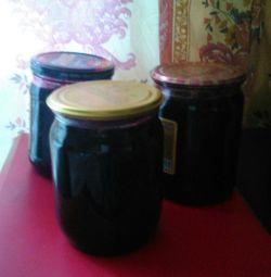 Варення з чeрной смородини з лимоном (апельсином)