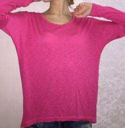 Βελούδινη μπλούζα 💕