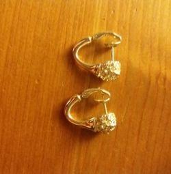 Küpeler Colibra. sahte mücevher