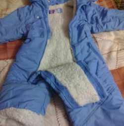 Children's overalls for 3 years.