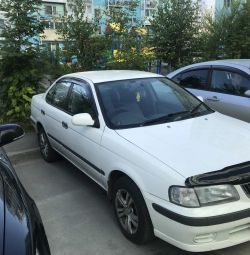 Rent a car Nissan Sunny 2002g.v with a ransom.
