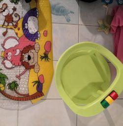 Scaun de baie pentru copil