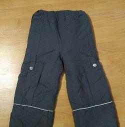 Pants for demi seasonal