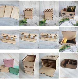 Materiale din lemn pentru extinderea genelor.