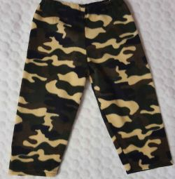 fleece pants size 92