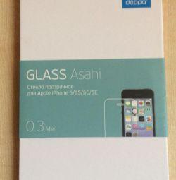Protection glass Deppa Glass Asahi iPhone 5 / 5s / 5c / SE