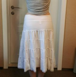 Cotton skirt from 44-50 (can be used for pregnant women)